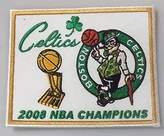 Boston Celtics 2008 NBA Champions Embroidered Patch - 3.05