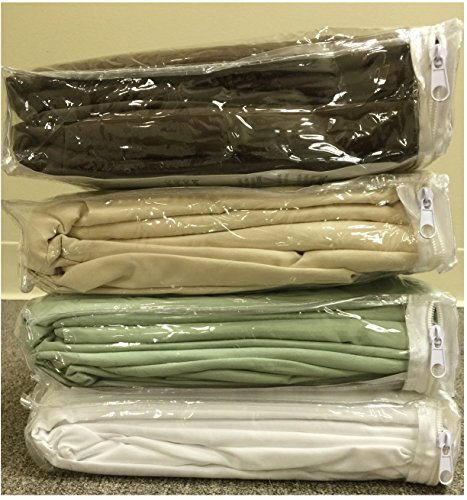 Therapist's Choice® Premium Deluxe Microfiber Massage Sheet Set, 3pc Set (Natural (Light Brown))