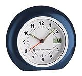 TFA Dostmann Analoger Funk-Wecker, mit digitaler Sekundenanzeige, Alarm mit Snooze-Funktion, höchste Genauigkeit