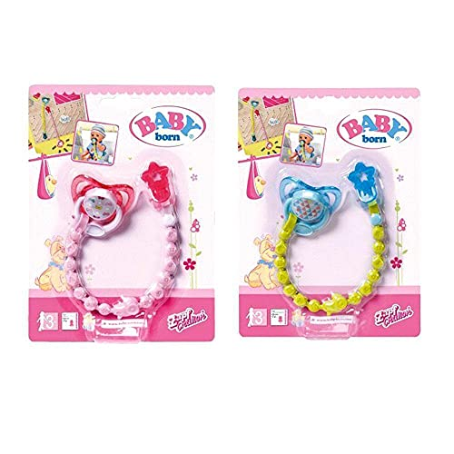 BABY born Dummy with Dummy Chain Doll pacifier & pacifier