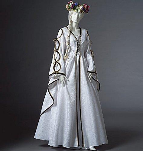 McCall 's Cosplay Damen Schnittmuster 2004historischen Boden Länge Kleider