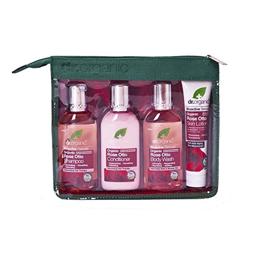 青南極クローゼットDr Organic Rose Otto Mini Travel Pack (Pack of 6) - Dr有機ミニ旅行パックをオットーローズ (x6) [並行輸入品]