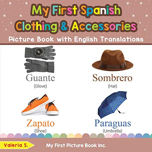 My First Spanish Clothing & Acc…