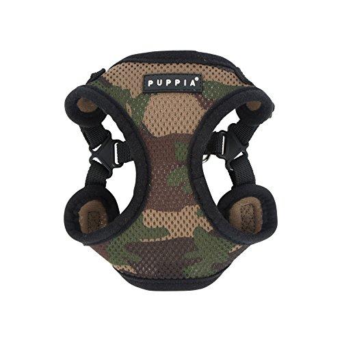 Puppia PARA-HC1533-CA-XL Camo Soft Harness C Pet-Vest-Harnesses, X-Large