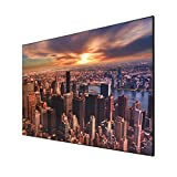 celexon Home Cinema y Business Pantalla de Marco para proyectores de ultracorta Distancia - 120' - 265x149cm - Altamente Reflectante Ganancia 0.6-4K UHD- Active 3D