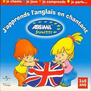 J'apprends l'Anglais en chantant (3 à 6 ans) (Learning English)