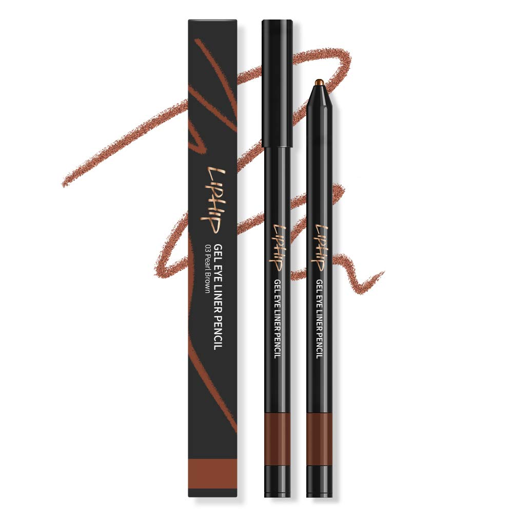 LIPHIP Gel Eyeliner Pencil Direct Max 72% OFF sale of manufacturer Smudge Water-Resistant Longwear G