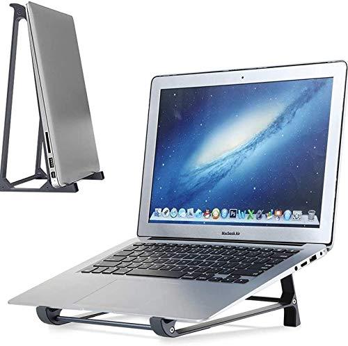 BAOFI Soporte Portátil Mesa, Laptop Desk aleación de Aluminio, Almacenamiento Vertical, Elevador Vertical para PC Estable para Todas Las computadoras portátiles y tabletas