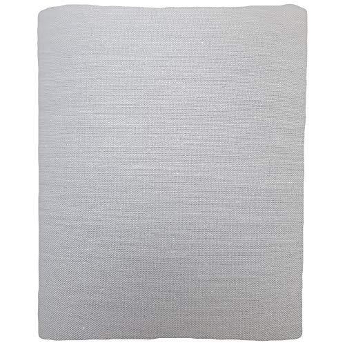1 Parche Termoadhesivo, tela reparadora para pantalón. 30x9 cms (8. Gris claro)