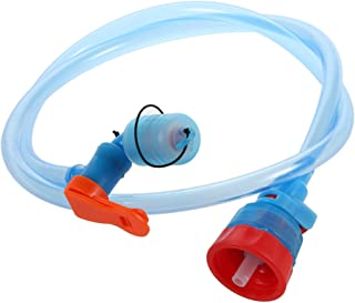 Walmeck Water Bottle Drink Tube Hose Hydration Bladder Reservoir Pack Backpack System Hose Kit