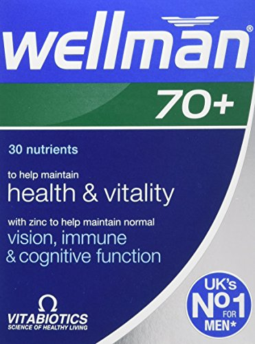 Vitabiotics Wellman 70+ - 30 Tablets