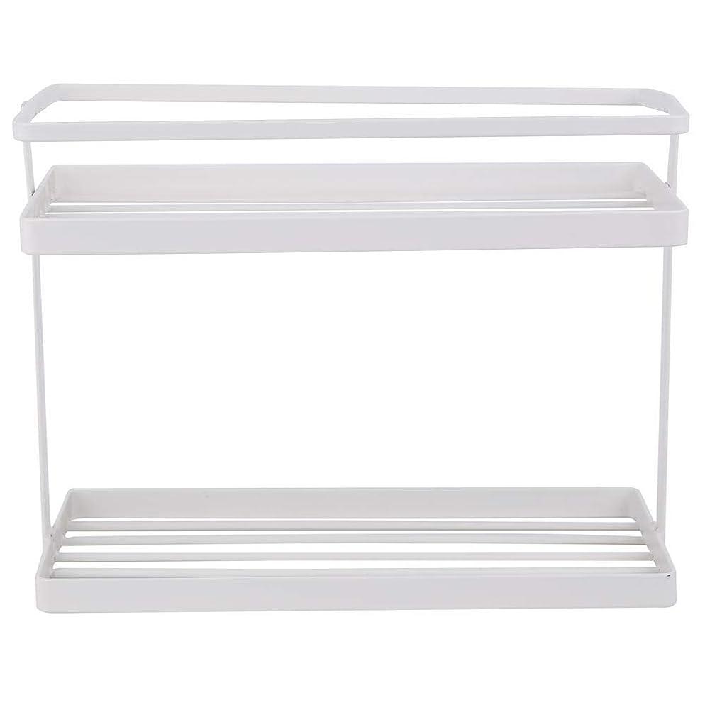 素晴らしさ理論マティスwinkong キッチンスタンド 約L28×W12×H21cm?ホワイト 調味料棚 ?薄型収納棚 キッチンラック キッチンツール収納 調味料収納