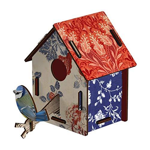 Miho - Décoration murale - Cabane à Oiseaux Countryside (petit modèle)