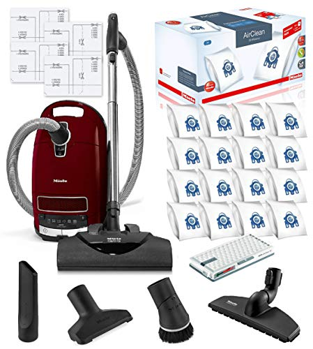 Miele Complete C3 SoftCarpet HEPA Canister Vacuum...