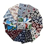 Marvel 0661020 Avengers Fat Quarter Bundle 13 Pcs Stoff,