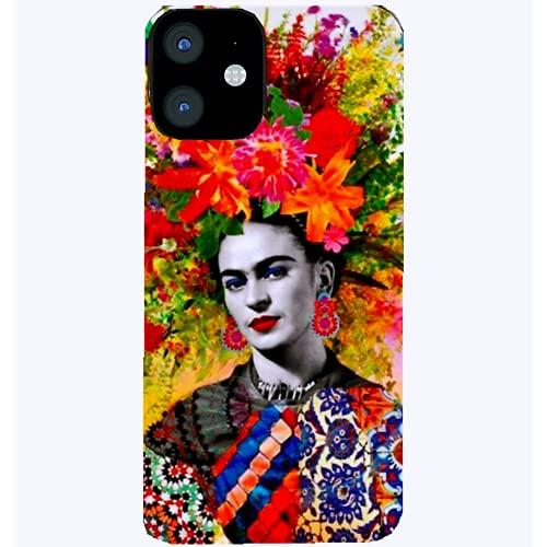 Qazespen per Frida Kahlo Custodia per Telefono per iPhone 13 PRO 13Pro Max 12 PRO Max 11 Cover Posteriore per Custodia di Ricarica Wireless