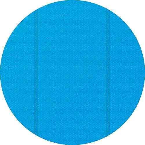 TecTake 800712 Manta Solar para Piscina, Cubierta Redonda Impermeable, Acortable, Azul - Varios Tamaños (3 m | 403107)