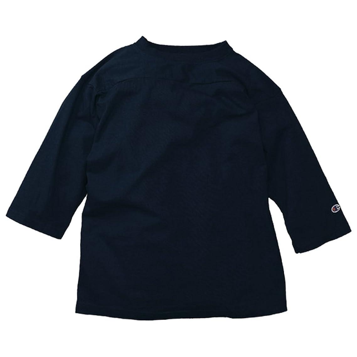 豆無限大トースト(チャンピオン) Champion T1011 3/4スリーブ 無地 フットボール Tシャツ