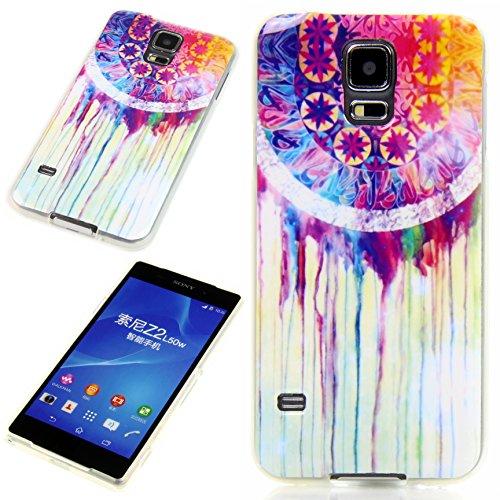 Handy Lux® Schutz Hülle Etui Silikon TPU Case Cover Design Motiv für LG G4s - Batik