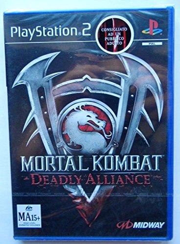 Mortal Kombat - Deadly Alliance PS2 Versione Platinum