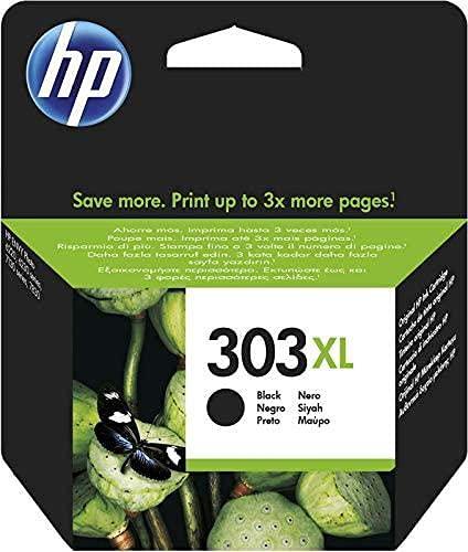 HP 303 XL T6N04AE Cartuccia Originale per Stampanti a Getto di Inchiostro HP Tango e Tango X e HP Envy 6220, 6230, 6232,...
