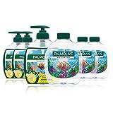 Palm olivo Acuario–Jabón líquido ventaja Pack, 6pack (6x 300ml)