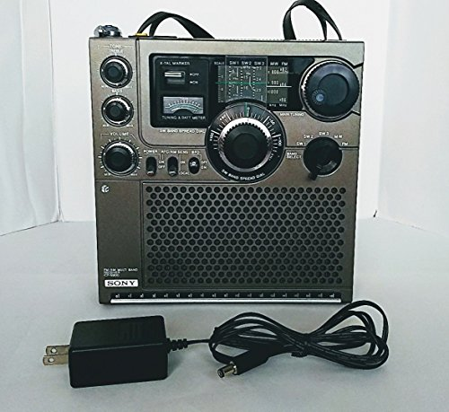 SONY ソニー ICF-5900 スカイセンサー 5バンドマルチバンドレシーバー FM/MW/SW1/SW2/SW3 (FM/中波/短波/BCLラジオ) 前期型