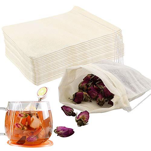 Lot de 30 sachets de thé réutilisables