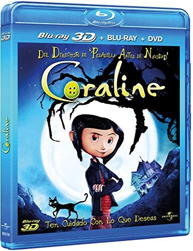 Los mundos de Coraline [Blu-ray]