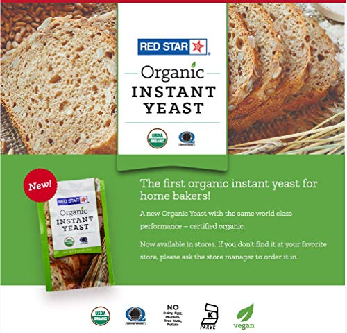 Red Star Organic Instant Yeast - 1 Packet