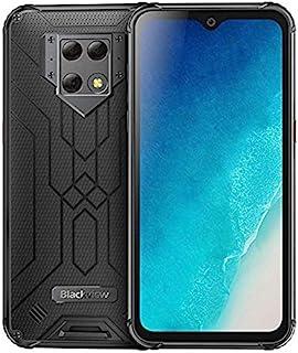 Blackview BV9800 pro赤外線カメラ用の世界初のスマートフォンRAM 6GB RAM 128GB Helio P70 Android9.0 IP68防水携帯電話 (黒)