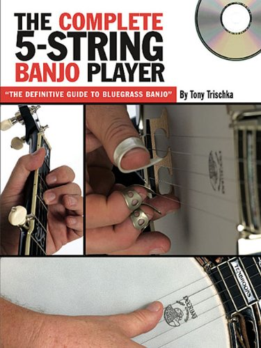 Tony Trischka: The Complete 5-String Banjo Player (Book/CD) (Grv)