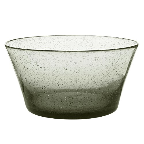 Table Passion - Saladier artisan bullé gris