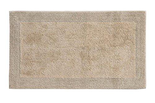 Grund Puro Series 100% Organic Cotton Reversible Bath Rug, 17-inch by 24-inch, Driftwood