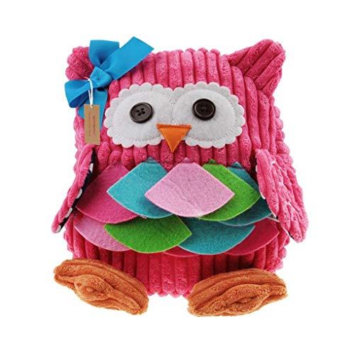 Kids Cartoon Backpack, WITERY Toddlers Owl Rucksack Kids School Bag Nursery Handbag Daypack/Schoolbag for Boys Girls