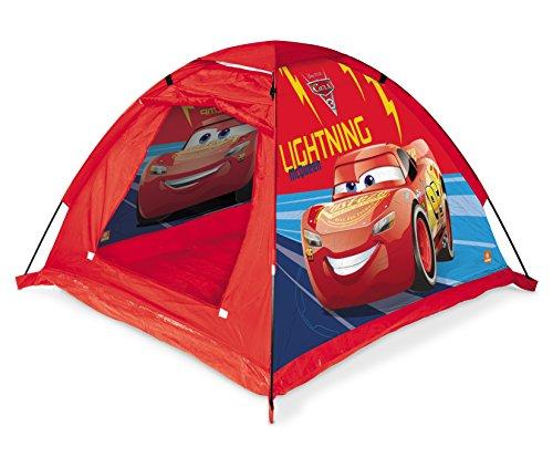Mondo Toys – Garden Tent Gartenzelt Cars 3 – Spielhaus für drinnen und draußen für Jungen und Mädchen, tragbar, Geschenk-Zelt für Kinder, Tragetasche – 28395
