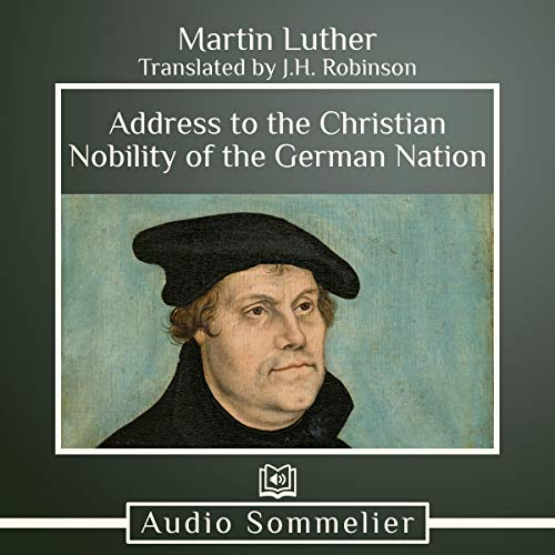 Address to the Christian Nobility of the German Nation audiobook cover art
