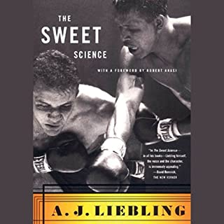 The Sweet Science audiobook cover art