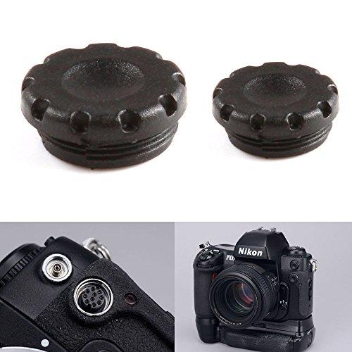 Fotga remoto de flash PC Sync terminal Tapa de objetivo para Nikon D810D800D800E...