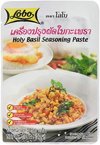 Lobo Würzpaste thailändische Basilikum, 12er Pack (12 x 50 g)