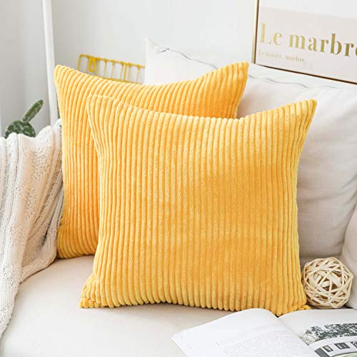 Home Brilliant Set of 2 Spring Throw Pillow Covers Decor Pillows Covers