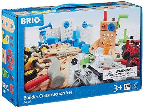 BRIO 34587 Konstruktion-34587 Konstruktions Set, Mehrfarbig