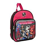 Kids Monster High Mochila Infantil, Negro y Rosa