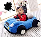 AVSHUB Soft Sofa Car Shape Baby Supporting Seat Soft Plush Cushion and Chair