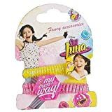Cartoon Set de 2 elasticas para el Pelo Soy Luna Disney WDSL028GIALLO