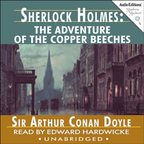 Sherlock Holmes: The Adventure of the Copper Beeches audiobook cover art