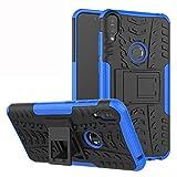 LFDZ ASUS Zenfone Max PRO (M1) Custodia, Resistente alle Cadute Armatura Robusta Custodia Shockproof Protective Case Cover per ASUS Zenfone Max PRO (M1) ZB602KL / ZB602KL Smartphone,Blu