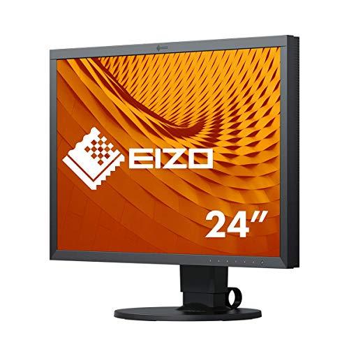 EIZO ColorEdge CS2410 61,1 cm (24,1 Zoll) Grafik Monitor (DVI-D, HDMI, USB 3.1 Hub, DisplayPort, 14 ms Reaktionszeit, Auflösung 1920 x 1200) schwarz