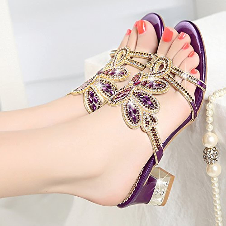 SAEJJ-Frauen Pantoffeln Frauen Sommer Sandalen Echtes Leder Leder Schuhe Frauen Und Schuhe.
