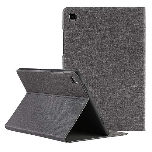 ZST Custodia Cover Samsung Galaxy Tab A7 10.4 2020, Slim Folio Custodia Cover per Samsung Galaxy Tab A7 10.4 Pollici (T500/T505/T507) 2020 (Auto Sveglia/Sonno), Nero